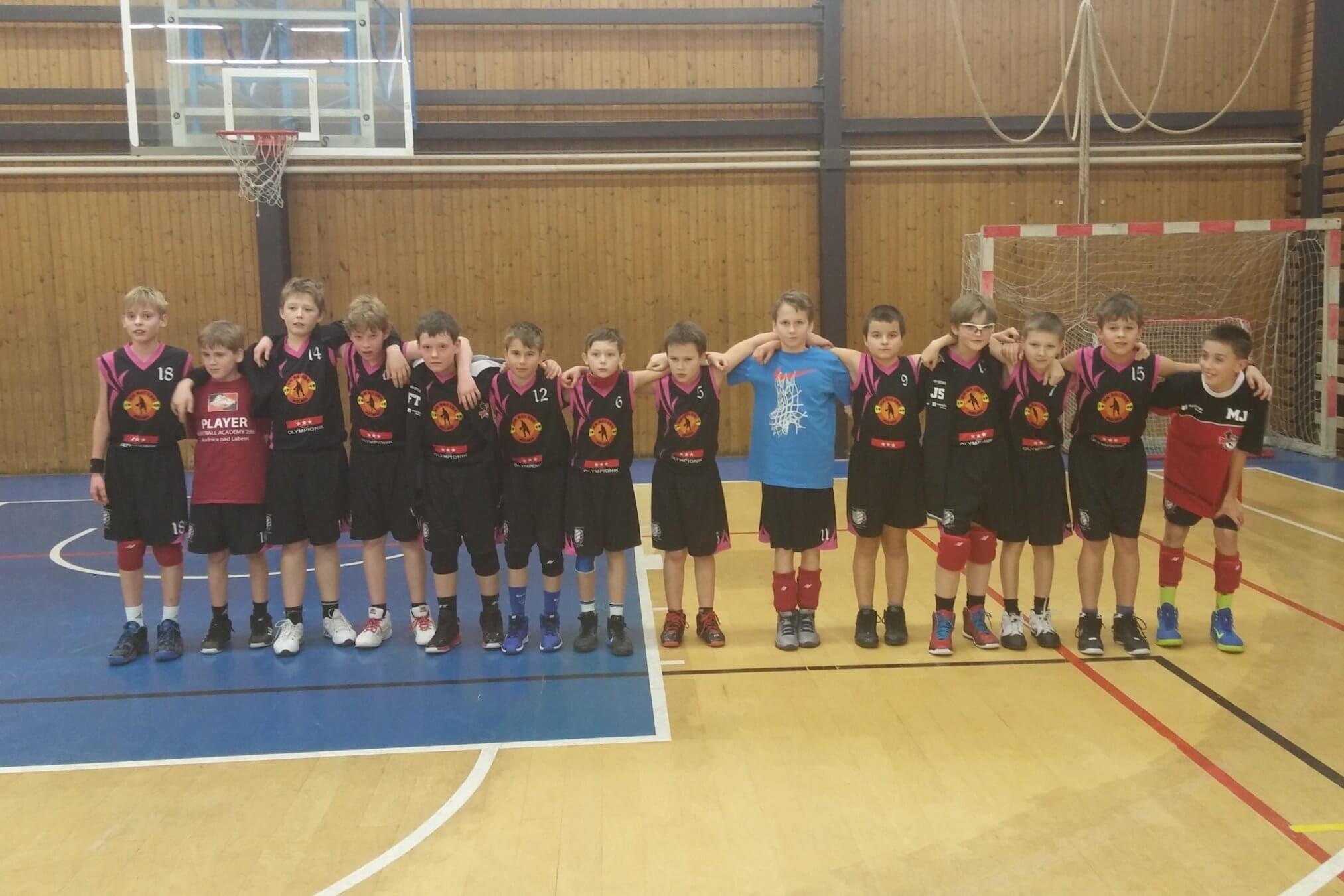 Družstvo U12 absolvovalo mezinárodního turnaj v Brandýse